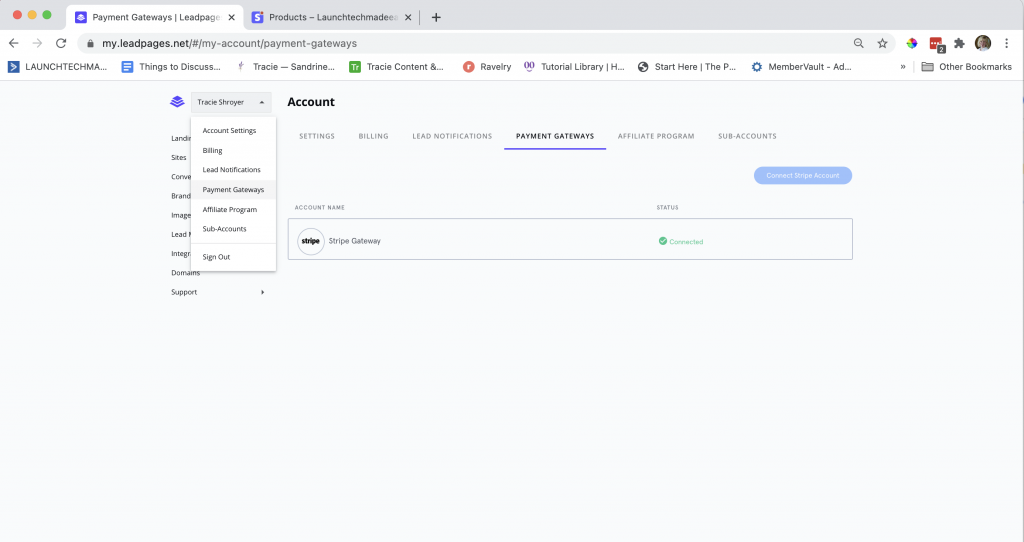 Integrate Leadpages with Stripe