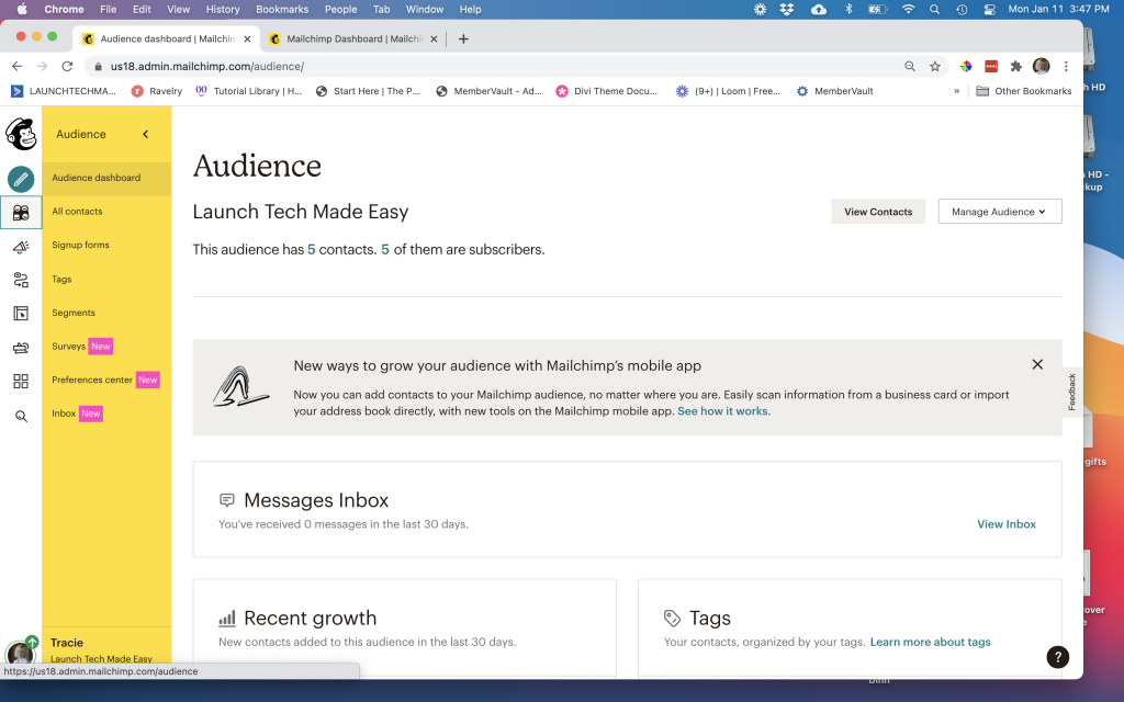 Migrate from MailChimp to ActiveCampaign Audience