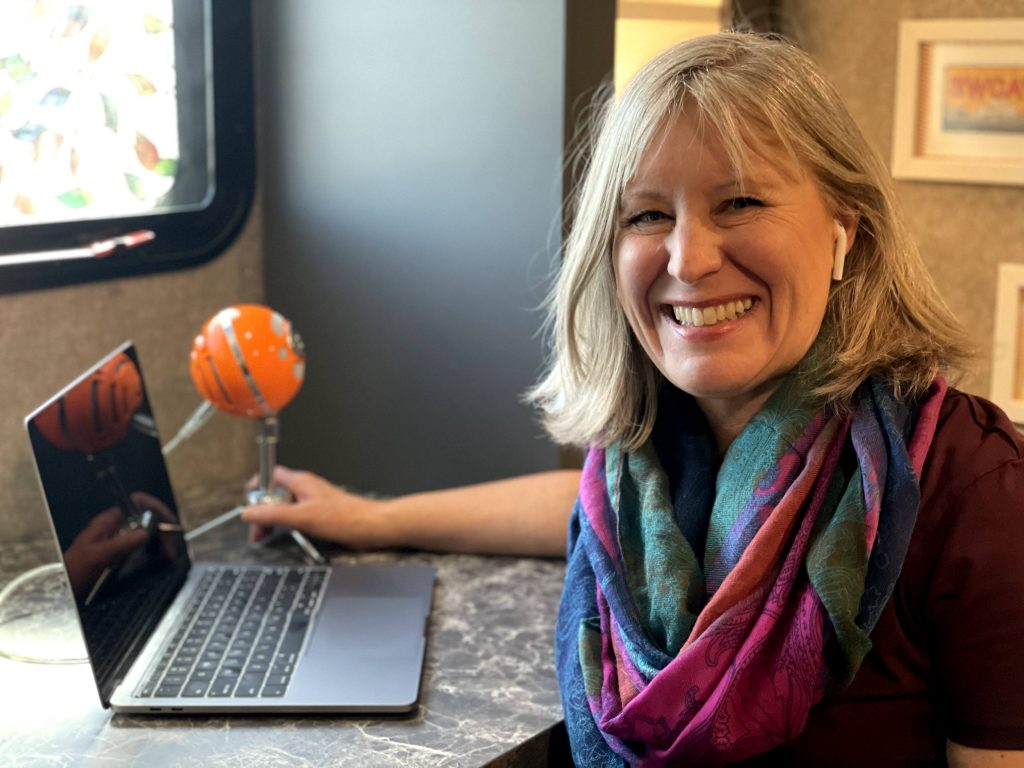 Tracie Winge Shroyer Podcasting