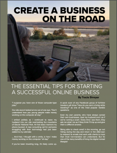 Launch an Online Business on the Road